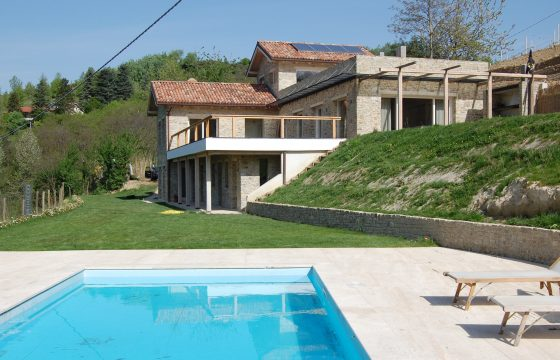 Nizza og Acqui Terme, Piemonte – moderne arkitektvilla i vindistrikt