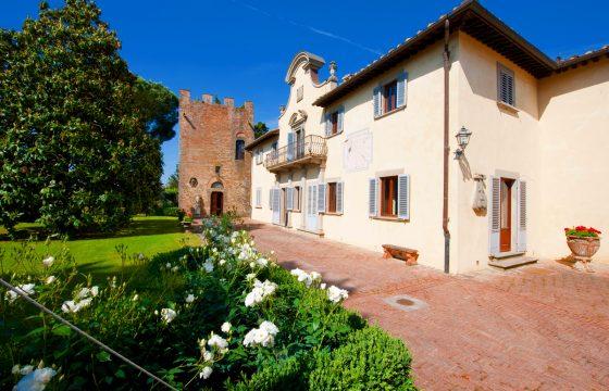 Luksuriøs komfort med højt til loftet – Castello di Cabbiavoli