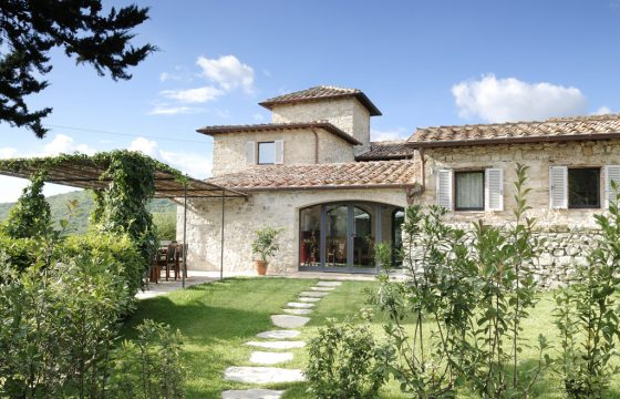 Villa i Chianti på 600 kvm med kæmpe privat grund