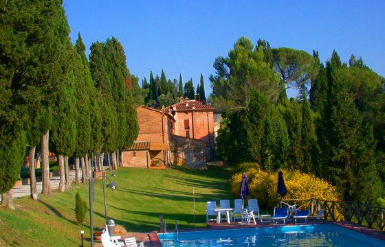Crete Senesi, Toscana – feriebolig med tennisbane og smuk natur
