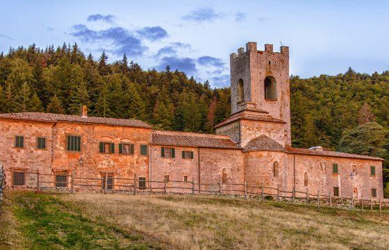 Badia a Coltibuono – lejligheder på kloster i Chianti
