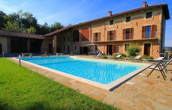 Villa i Piemonte – feriebolig i vinland ved Fubine