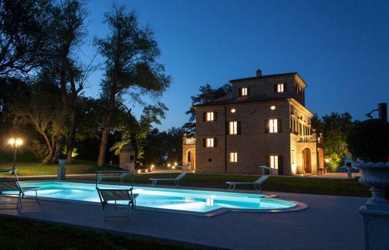 Villa Nena, Tolentino, Macerata – gigantisk feriebolig i Le Marche