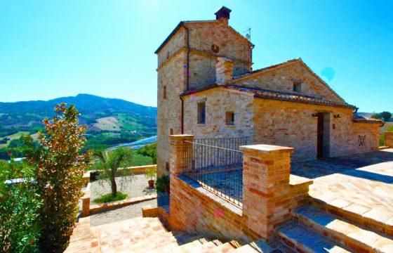 Privat villa i Montedinove, Ascoli Piceno, Le Marche