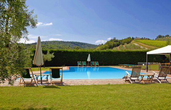San Filippo, Montalcino – Brunello-vingård med feriebolig