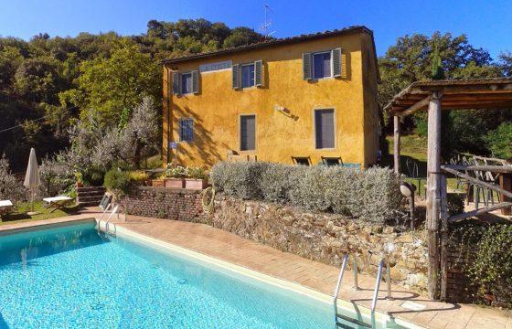 Bucine, Arezzo – privat villa ved Petrolo, Galatrona