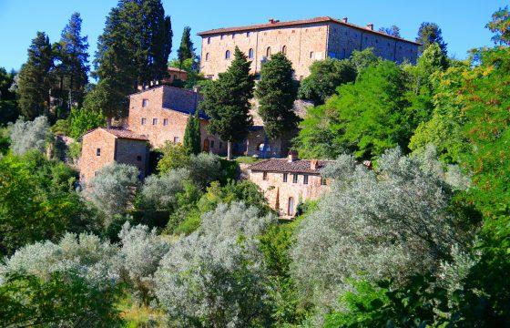Castello di Bibbione, Chianti – slot med wellness-center