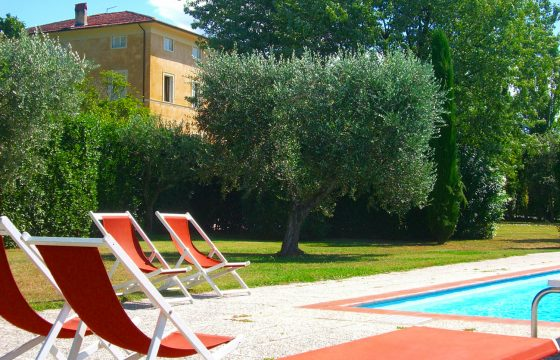 Lucca: privat villa med pool i Segromigno in Monte