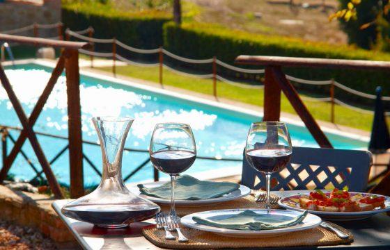 Forte Sorgnano, Assisi og Perugia: agriturismo med wellness og restaurant