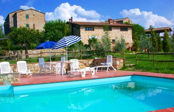 Sovicille, Siena: privat villa med pool ved Stigliano