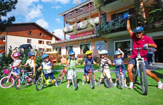 Bormio: alpint cykel- og ski-hotel