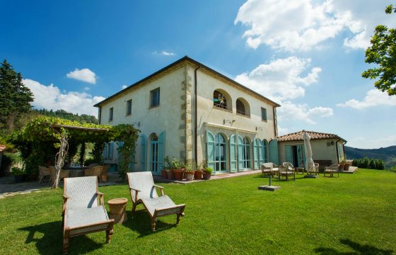 Luksusvilla ved San Casciano dei Bagni og Celle sul Rigo