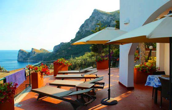 Amalfikysten, Sorrento – villa ved Nerano og Marina del Cantone