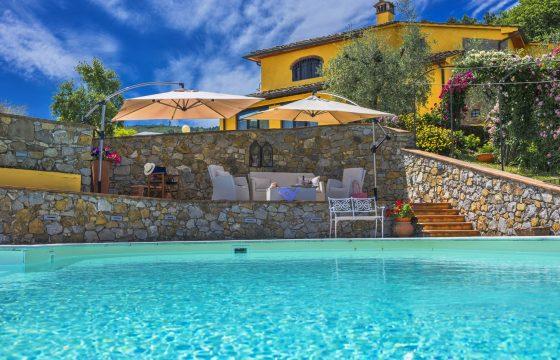 Eksklusiv feriebolig ved Montecatini Terme, Pistoia og Firenze