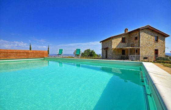 Val d' Orcia – privat villa med pool ved Campiglia d'Orcia