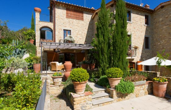Chianti ved Siena: romantisk feriebolig med pool