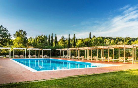 Firenze, San Miniato og Castelfiorentino: feriebolig med pool og tennisbane