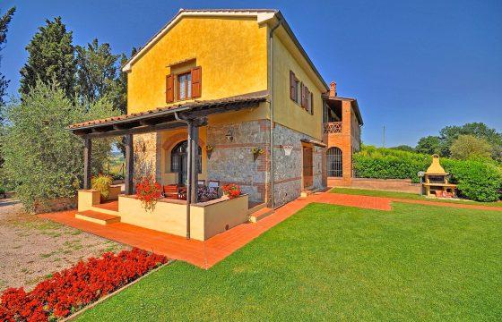 San Gimignano: privat feriebolig med pool – tæt på Chianti Classico
