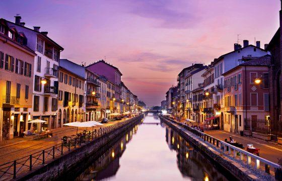 Milano, Naviglio Grande: moderne lejlighed med air condition og wi-fi i byens nye, hippe kvarter