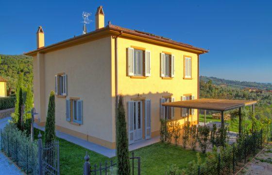 Vinci og Lamporecchio – privat villa ved Borgo Casorelle