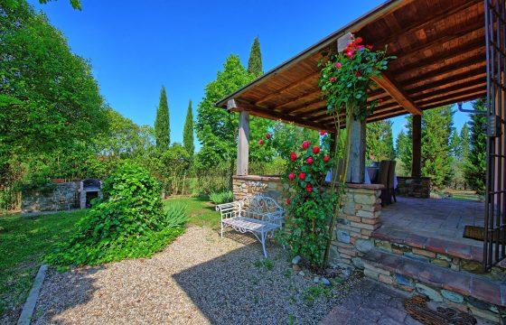 Familieferie i Certaldo, centrale Toscana: privat villa med anneks