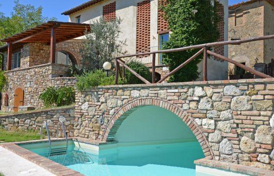 San Gimignano – rustik og privat villa til en børnefamilie