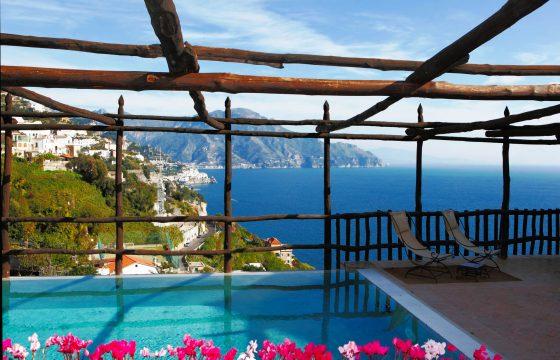 Amalfikysten: luksusvilla ved Middelhavet, Amalfi og Salerno
