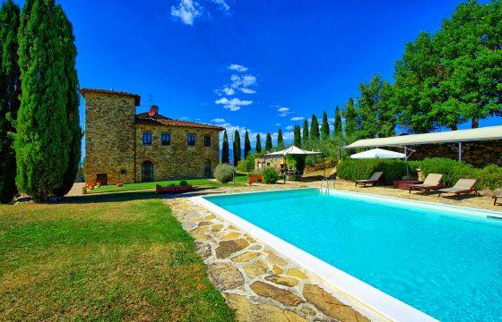 Arezzo, Toscana – stor villa ved Bucine