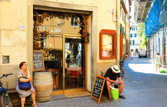 Lucca centrum: romantiske city-apartments tæt på via Fillungo