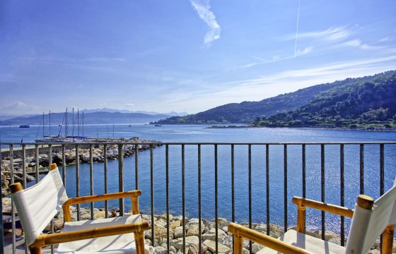 Portovenere v. La Spezia: Luksus feriebolig v. Cinque Terre og Middelhavet