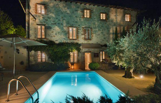 Lucca og Middelhavet: eksklusivt bed & breakfast og villa ved Camaiore