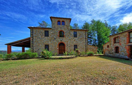 Adelig Chianti-villa mellem Siena og Arezzo, Toscana