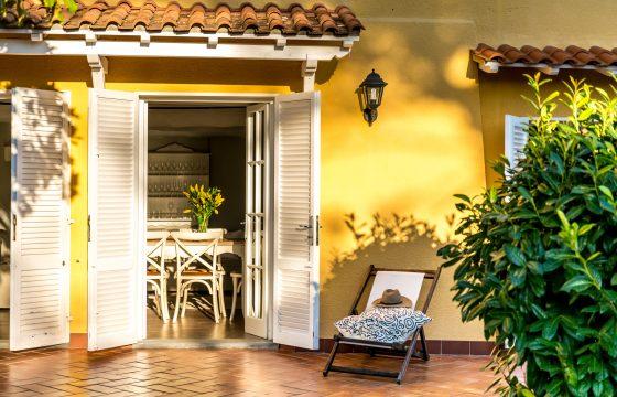 Mindre luksusvilla med pool og tagterrasse v. Camaiore nær Lucca og Middelhavet