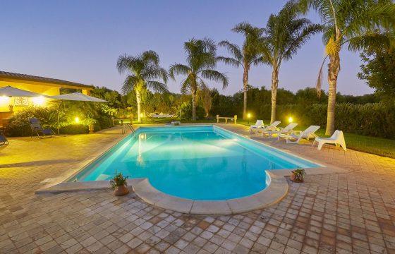 Selinunte og Triscina: privat villa med pool tæt på Middelhavet