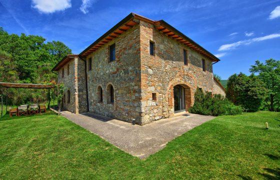 Toscana og pool: privat villa v. Sarteano med eksklusiv udsigt over Val d'Orcia