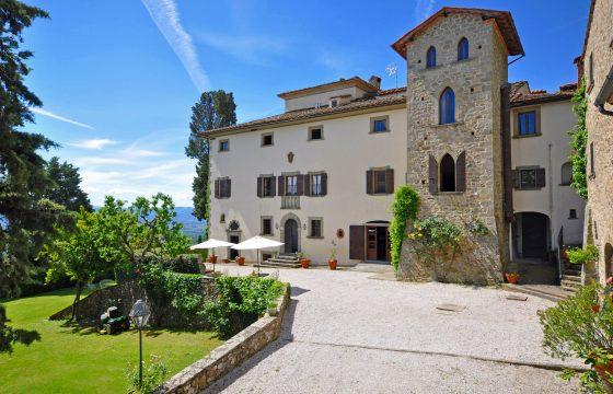 Arezzo: Villa Vezza, middelalderborg i Toscanas hemmelige hjørne