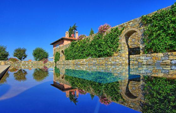 Firenze, Toscana: luksusferie i designervilla med air condition og heftig pool