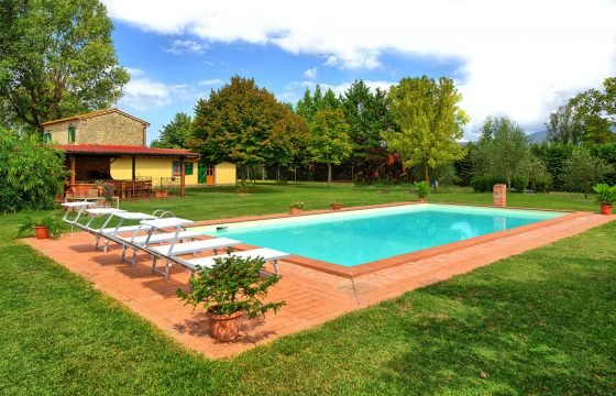 Privat villa med pool v. Cortona, Toscana