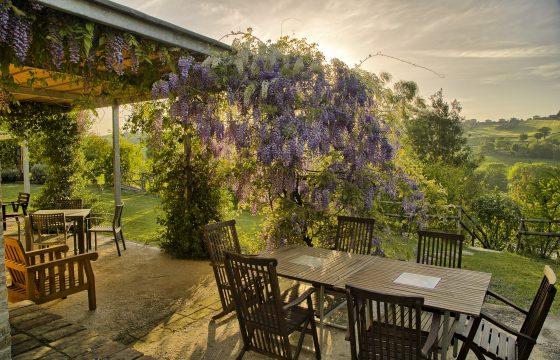 Privat villa med pool og aircondition i baglandet ved Ancona