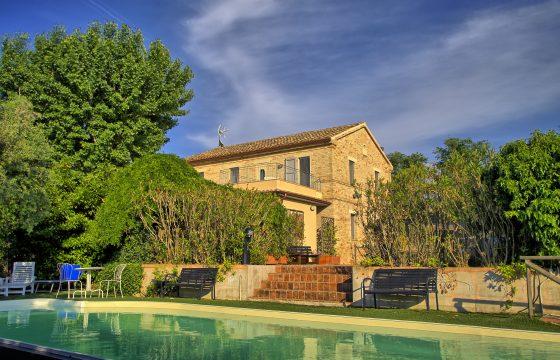 Romantisk Bed & Breakfast og privat villa ved Ancona, Marche